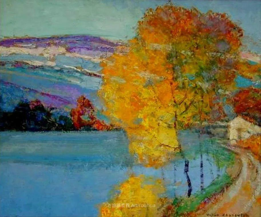色彩丰富明亮,他笔下的风景太迷人了!插图103