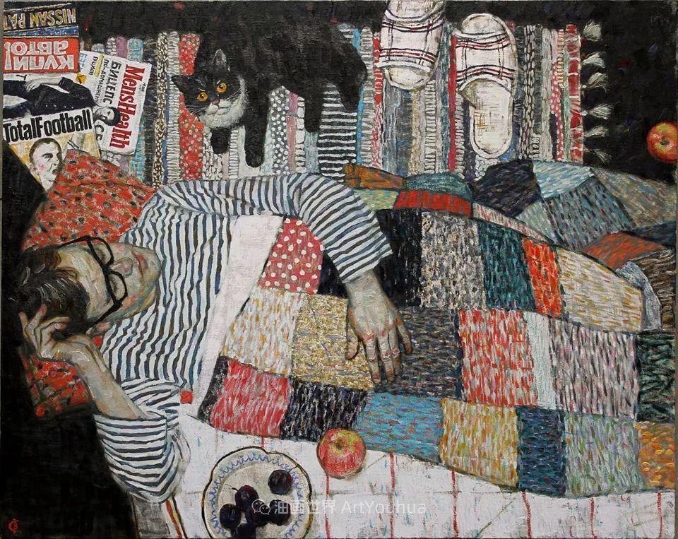 俄罗斯画家Vladimir Sturis作品欣赏插图9