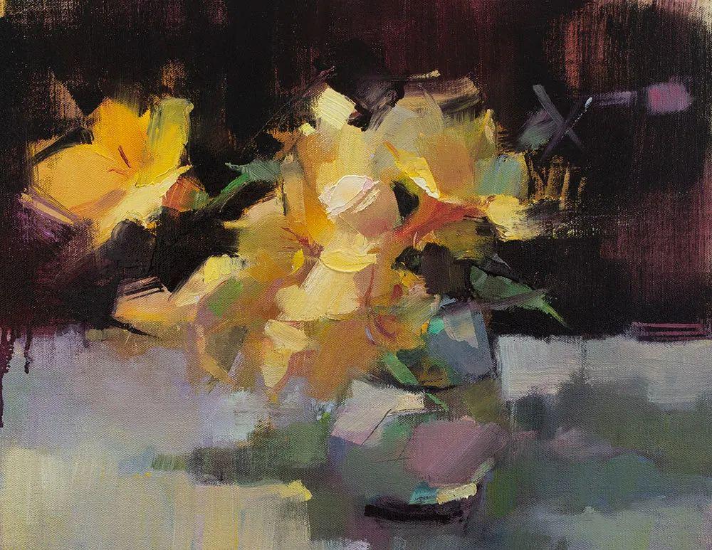 她的作品很注重色彩,光线和纹理!插图1