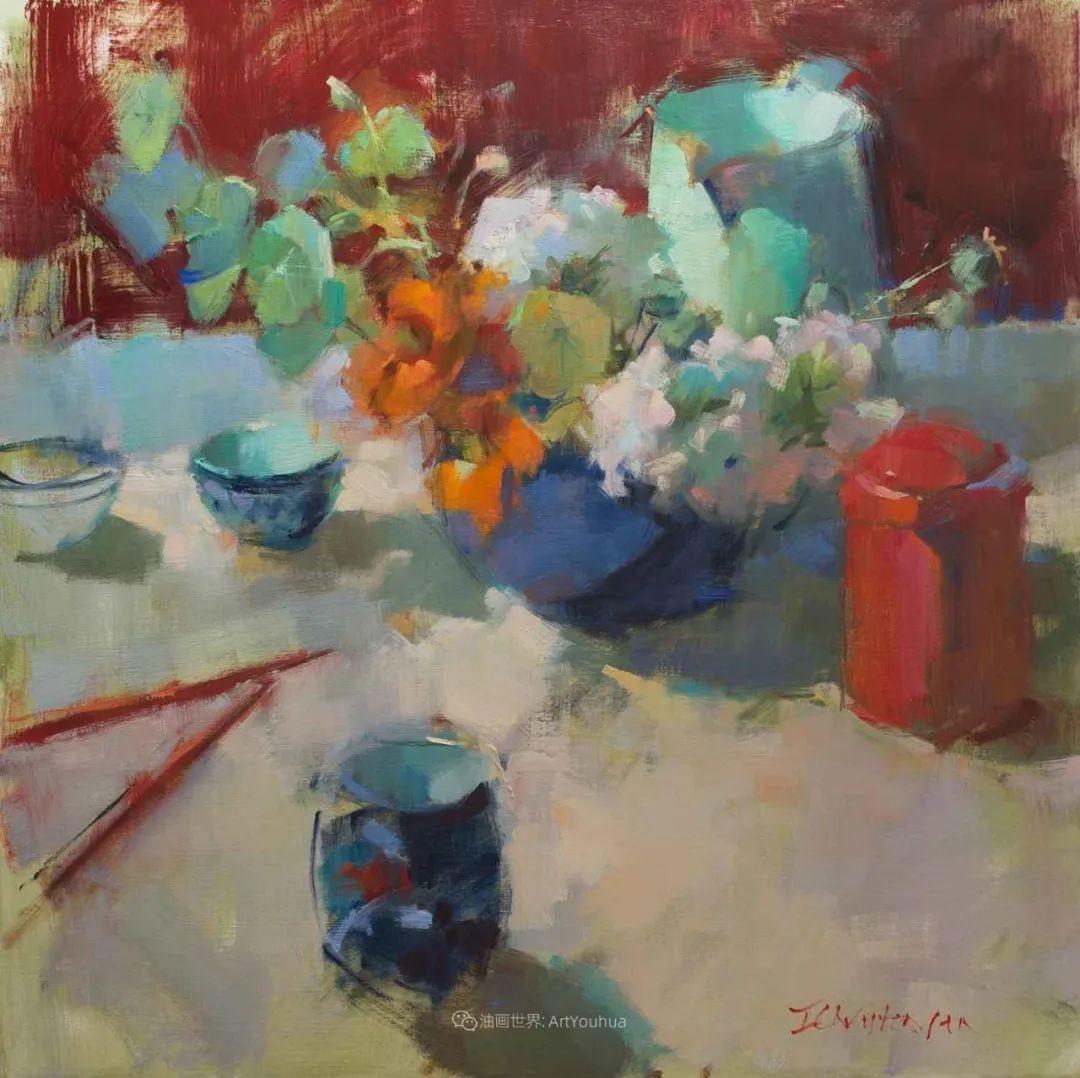 她的作品很注重色彩,光线和纹理!插图23