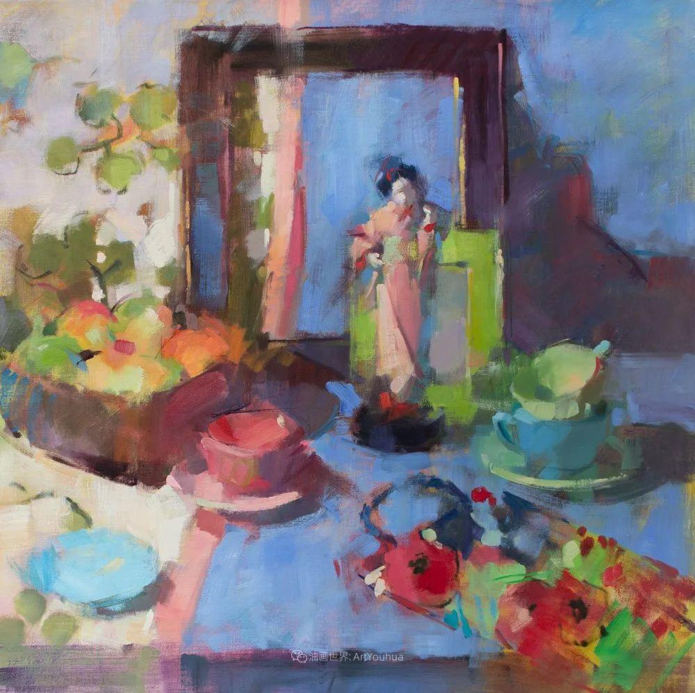 她的作品很注重色彩,光线和纹理!插图29