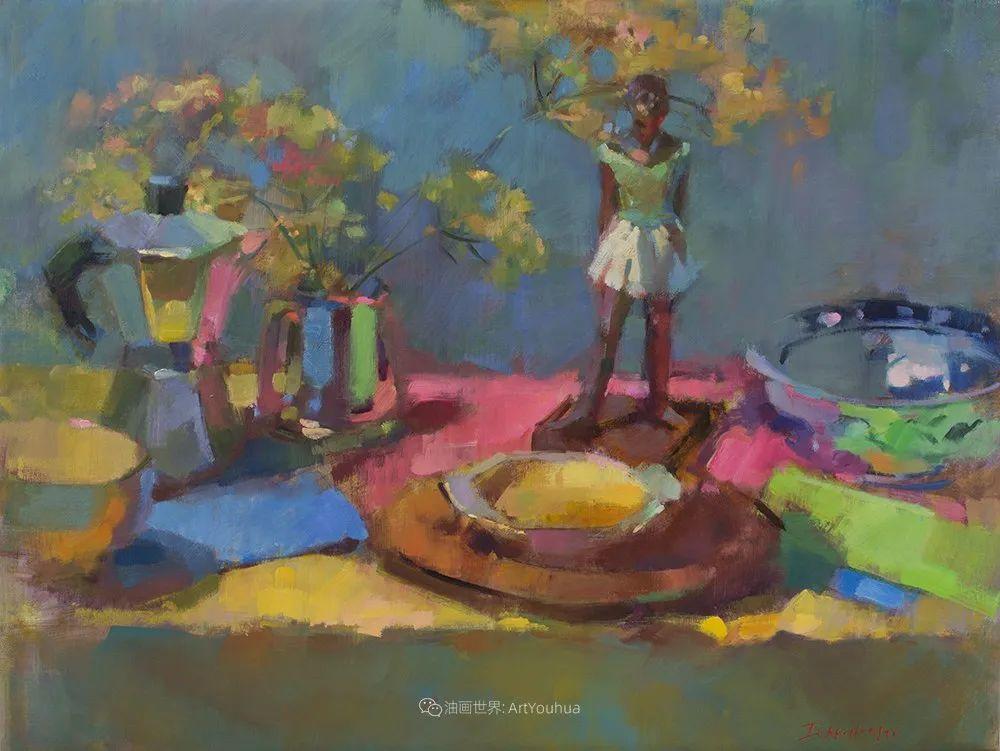 她的作品很注重色彩,光线和纹理!插图67