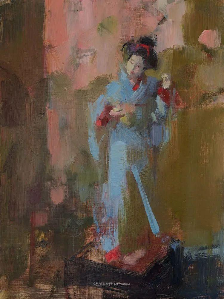 她的作品很注重色彩,光线和纹理!插图69