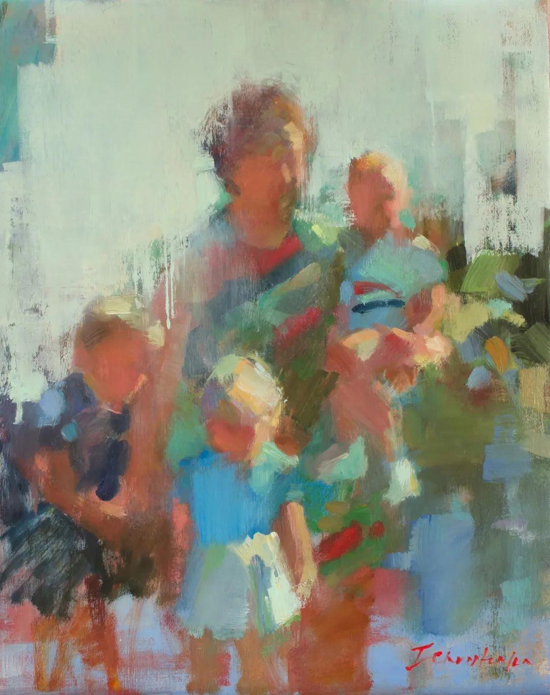 她的作品很注重色彩,光线和纹理!插图133