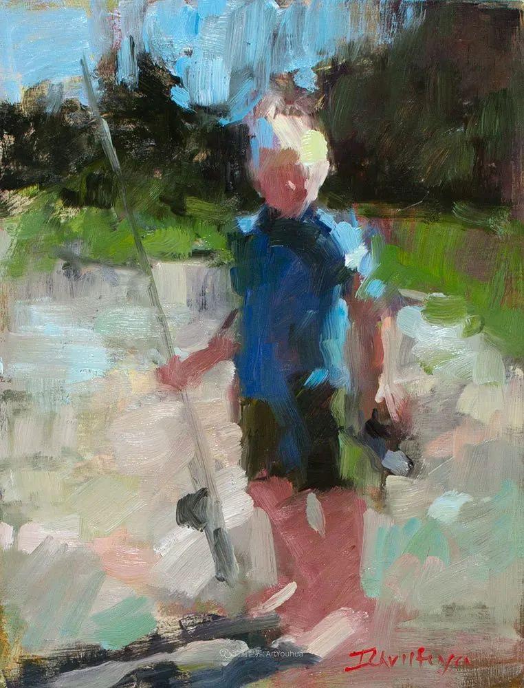 她的作品很注重色彩,光线和纹理!插图147