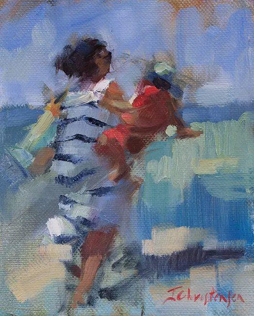 她的作品很注重色彩,光线和纹理!插图151