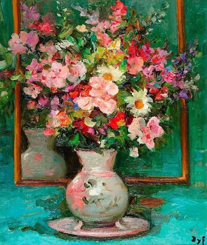 光与氛围感的出色表现,法国印象派画家马塞尔·戴夫插图1