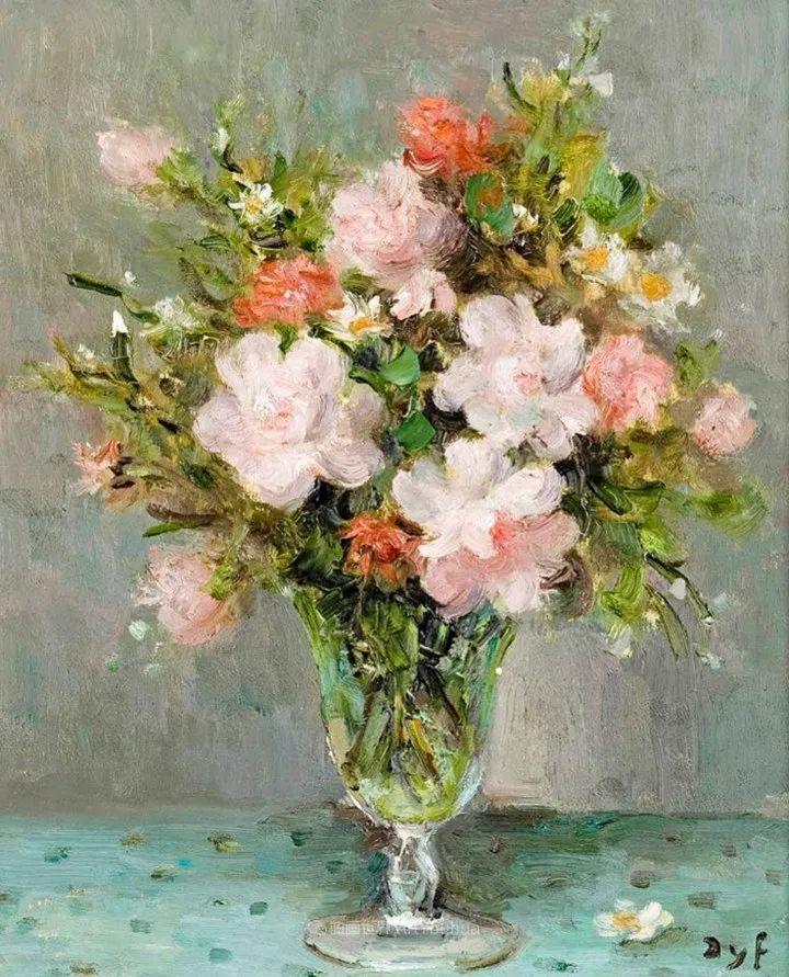 光与氛围感的出色表现,法国印象派画家马塞尔·戴夫插图19