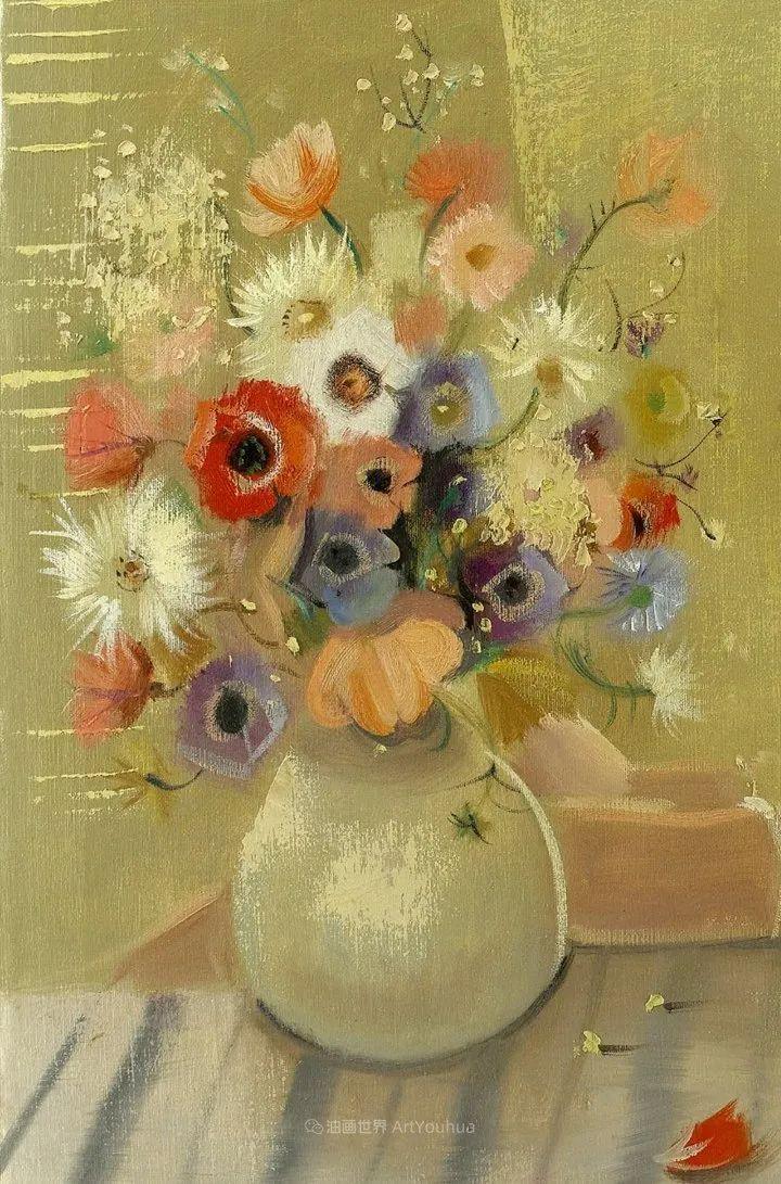 光与氛围感的出色表现,法国印象派画家马塞尔·戴夫插图25
