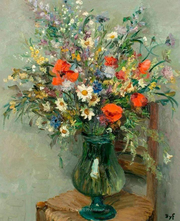 光与氛围感的出色表现,法国印象派画家马塞尔·戴夫插图35