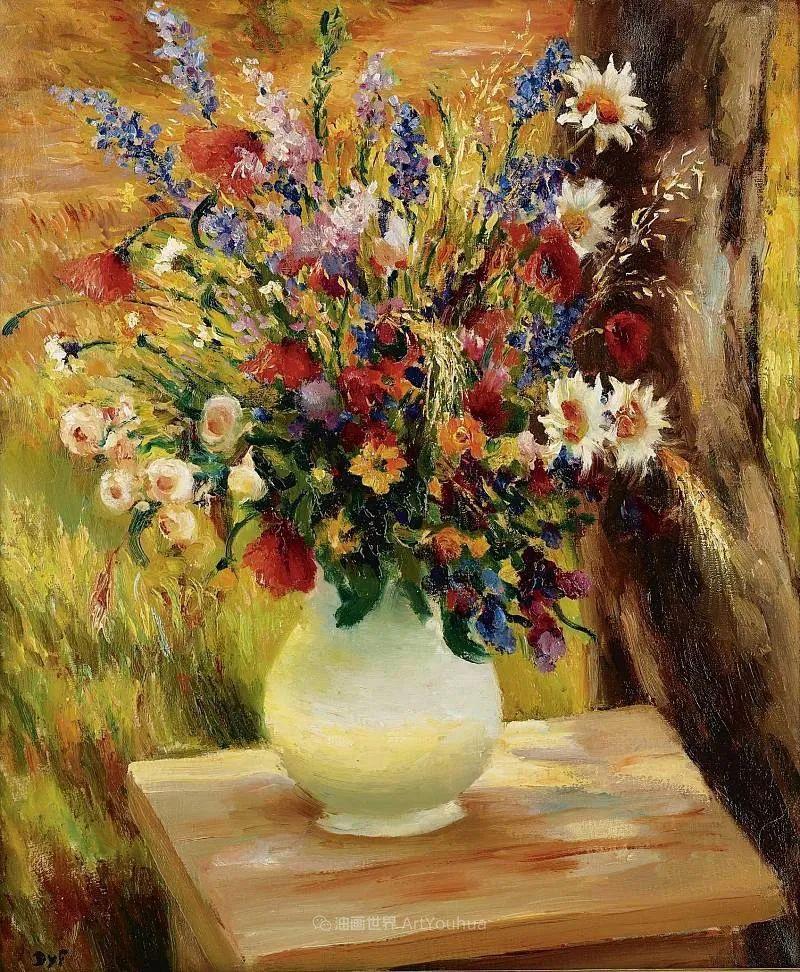 光与氛围感的出色表现,法国印象派画家马塞尔·戴夫插图39