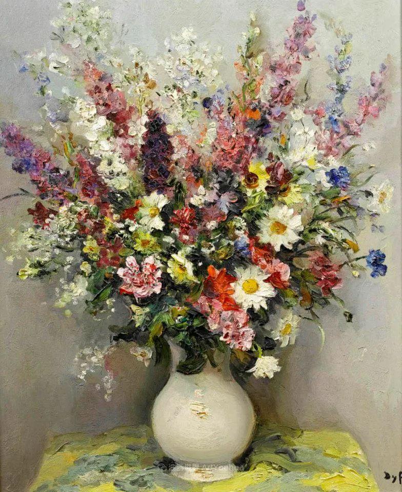 光与氛围感的出色表现,法国印象派画家马塞尔·戴夫插图41