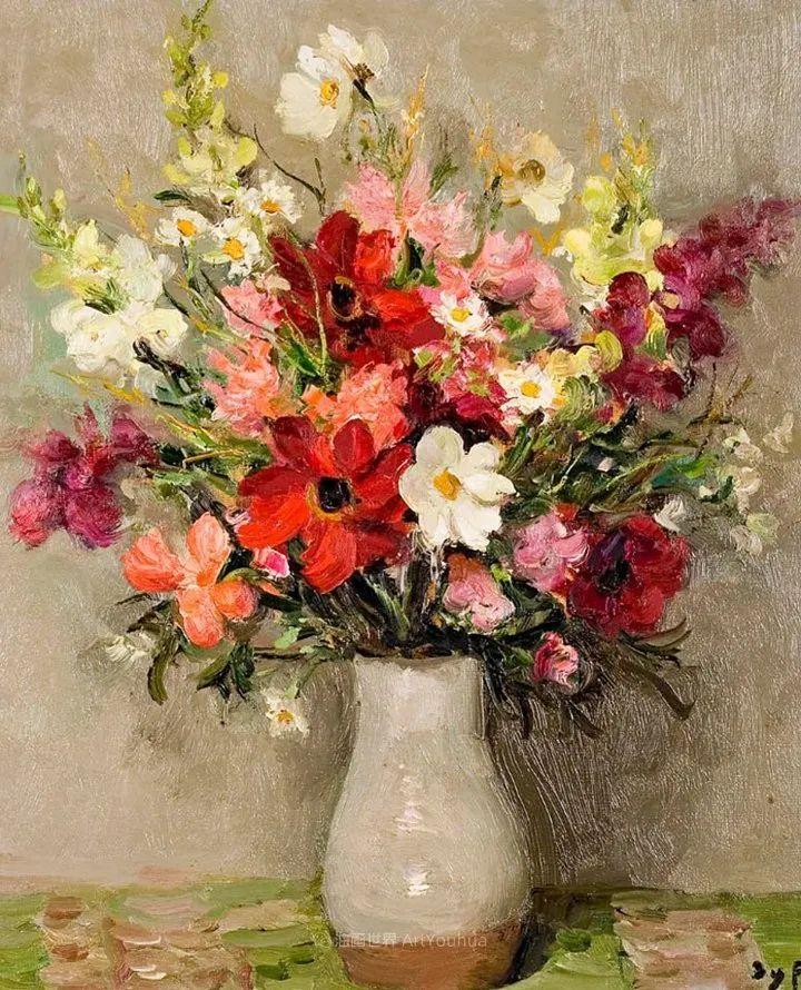 光与氛围感的出色表现,法国印象派画家马塞尔·戴夫插图45