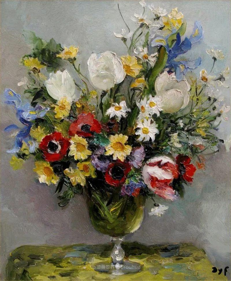 光与氛围感的出色表现,法国印象派画家马塞尔·戴夫插图47