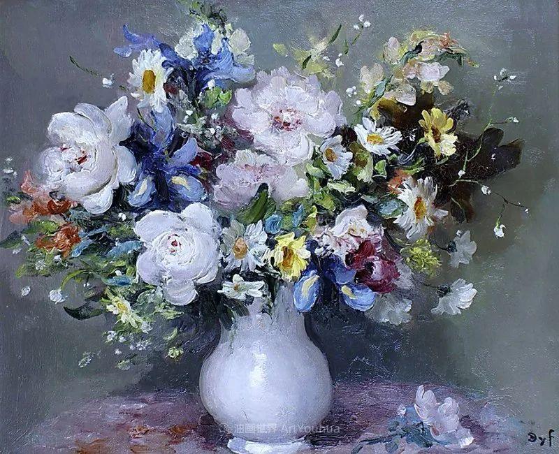 光与氛围感的出色表现,法国印象派画家马塞尔·戴夫插图53