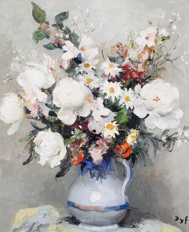 光与氛围感的出色表现,法国印象派画家马塞尔·戴夫插图57