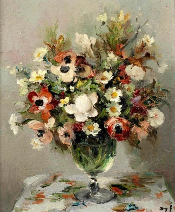 光与氛围感的出色表现,法国印象派画家马塞尔·戴夫插图59