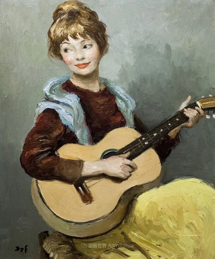 光与氛围感的出色表现,法国印象派画家马塞尔·戴夫插图67