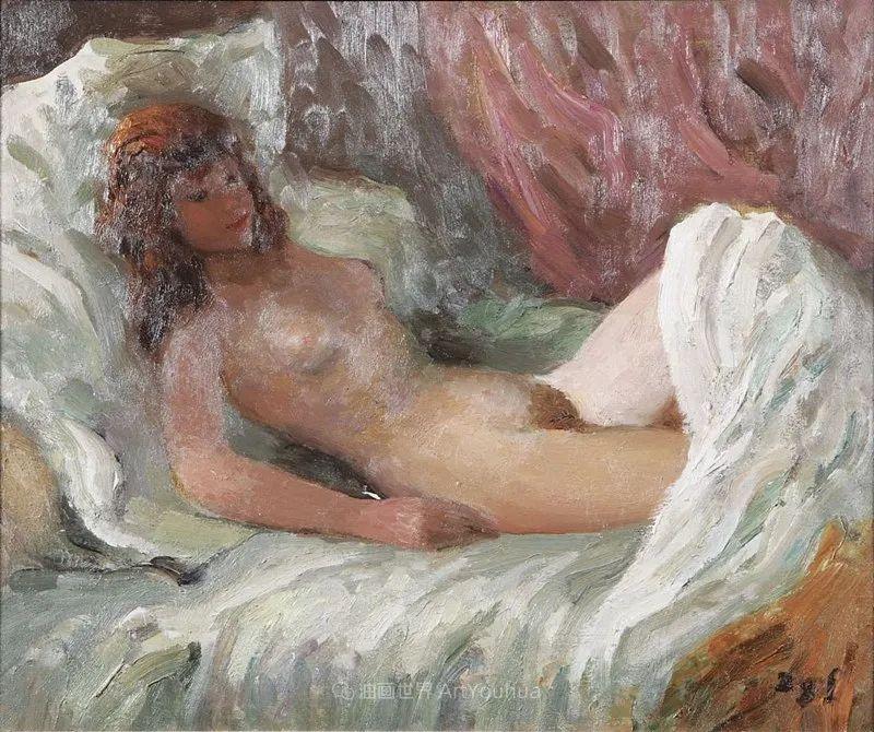 光与氛围感的出色表现,法国印象派画家马塞尔·戴夫插图71