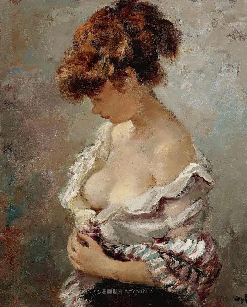 光与氛围感的出色表现,法国印象派画家马塞尔·戴夫插图81