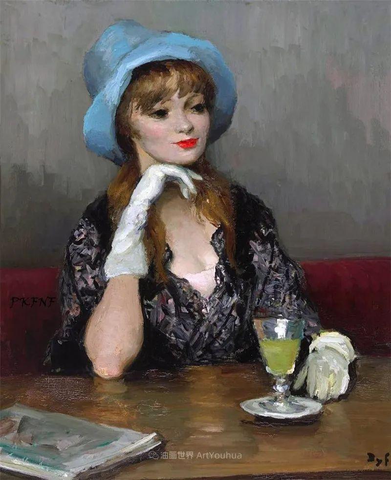 光与氛围感的出色表现,法国印象派画家马塞尔·戴夫插图85