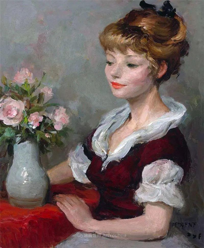 光与氛围感的出色表现,法国印象派画家马塞尔·戴夫插图87