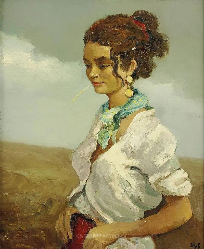 光与氛围感的出色表现,法国印象派画家马塞尔·戴夫插图95