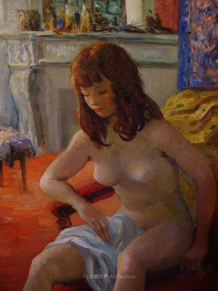 光与氛围感的出色表现,法国印象派画家马塞尔·戴夫插图99