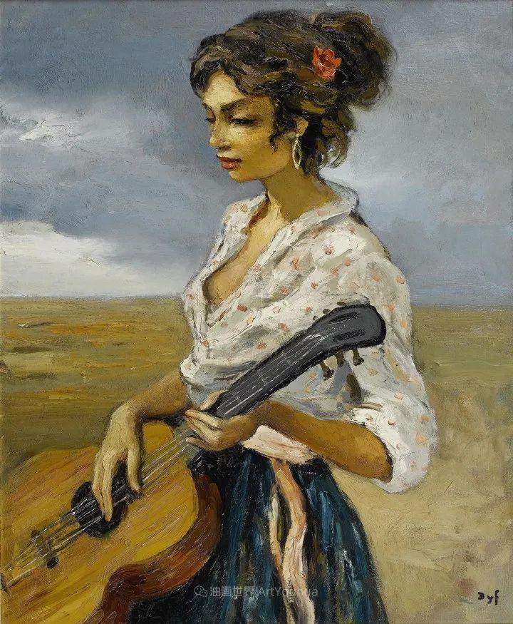 光与氛围感的出色表现,法国印象派画家马塞尔·戴夫插图101