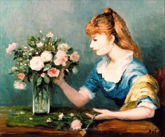 光与氛围感的出色表现,法国印象派画家马塞尔·戴夫插图116