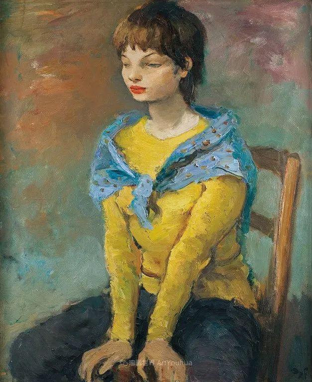 光与氛围感的出色表现,法国印象派画家马塞尔·戴夫插图118