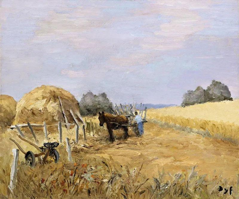 光与氛围感的出色表现,法国印象派画家马塞尔·戴夫插图156