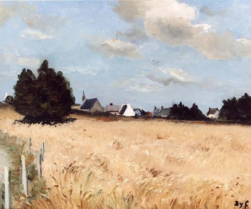 光与氛围感的出色表现,法国印象派画家马塞尔·戴夫插图162