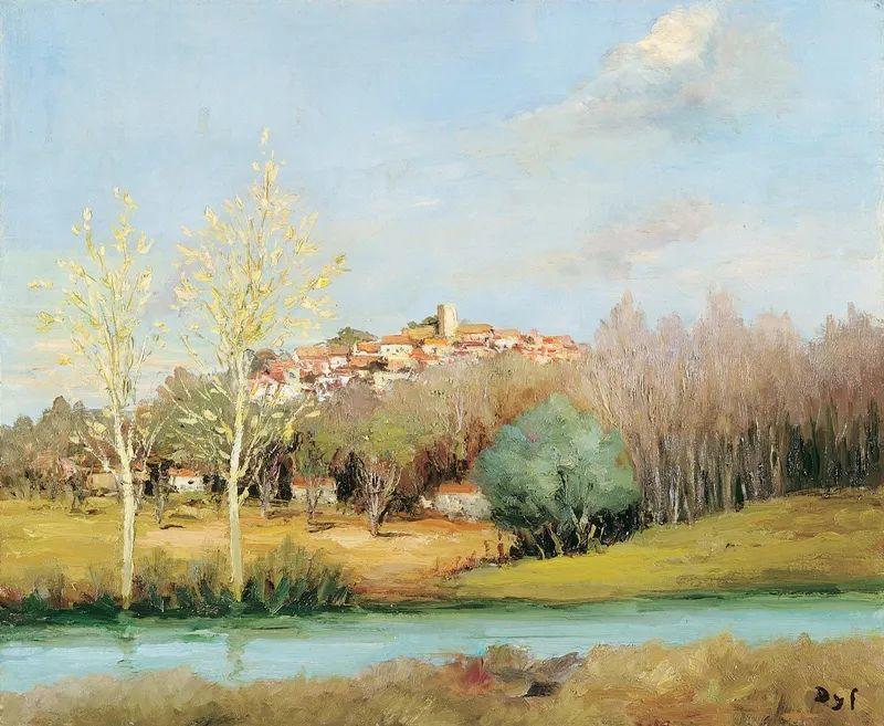 光与氛围感的出色表现,法国印象派画家马塞尔·戴夫插图166