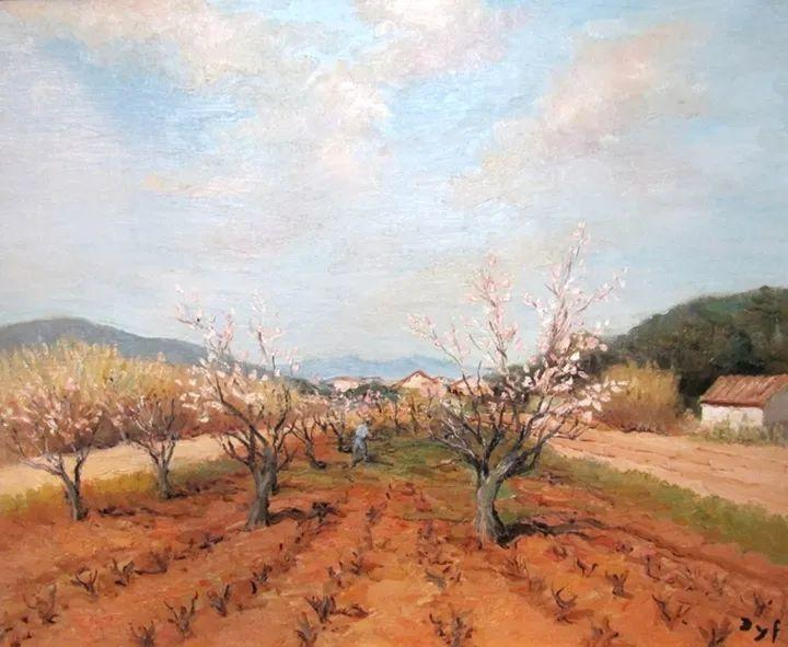 光与氛围感的出色表现,法国印象派画家马塞尔·戴夫插图170