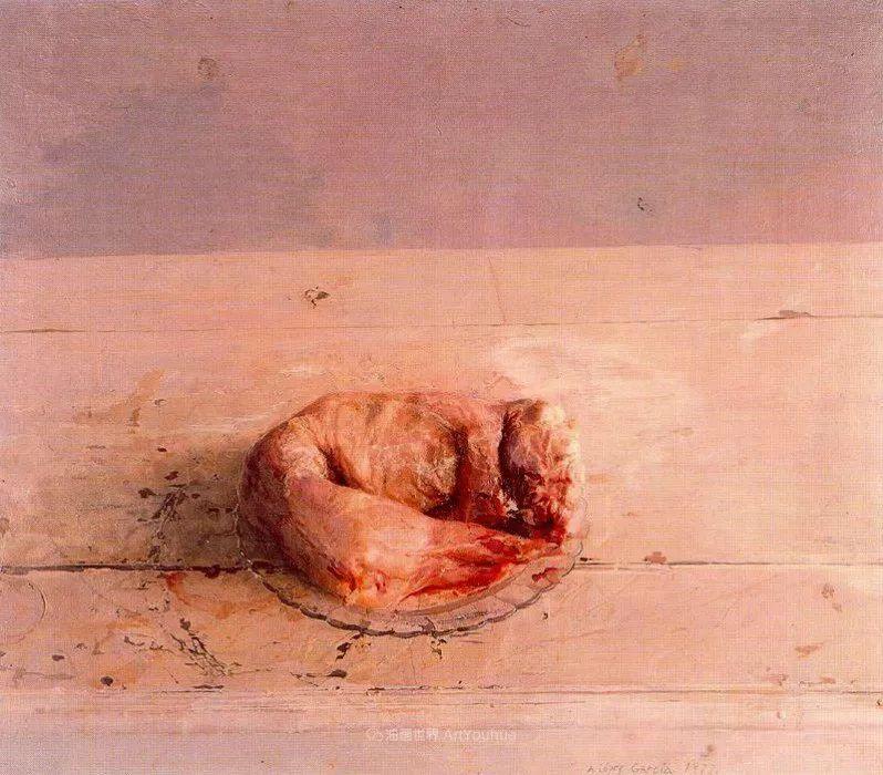 西班牙画坛鬼才,安东尼奥·洛佩兹·加西亚插图43