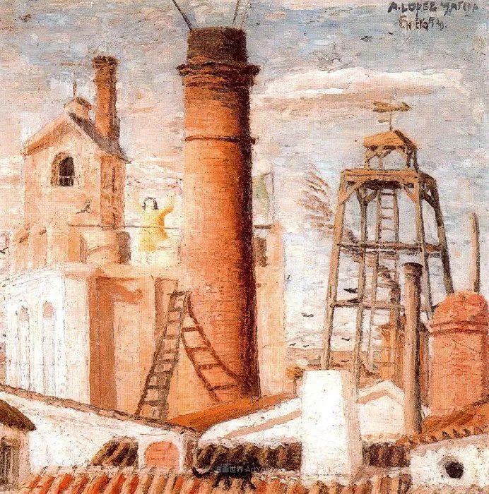 西班牙画坛鬼才,安东尼奥·洛佩兹·加西亚插图121