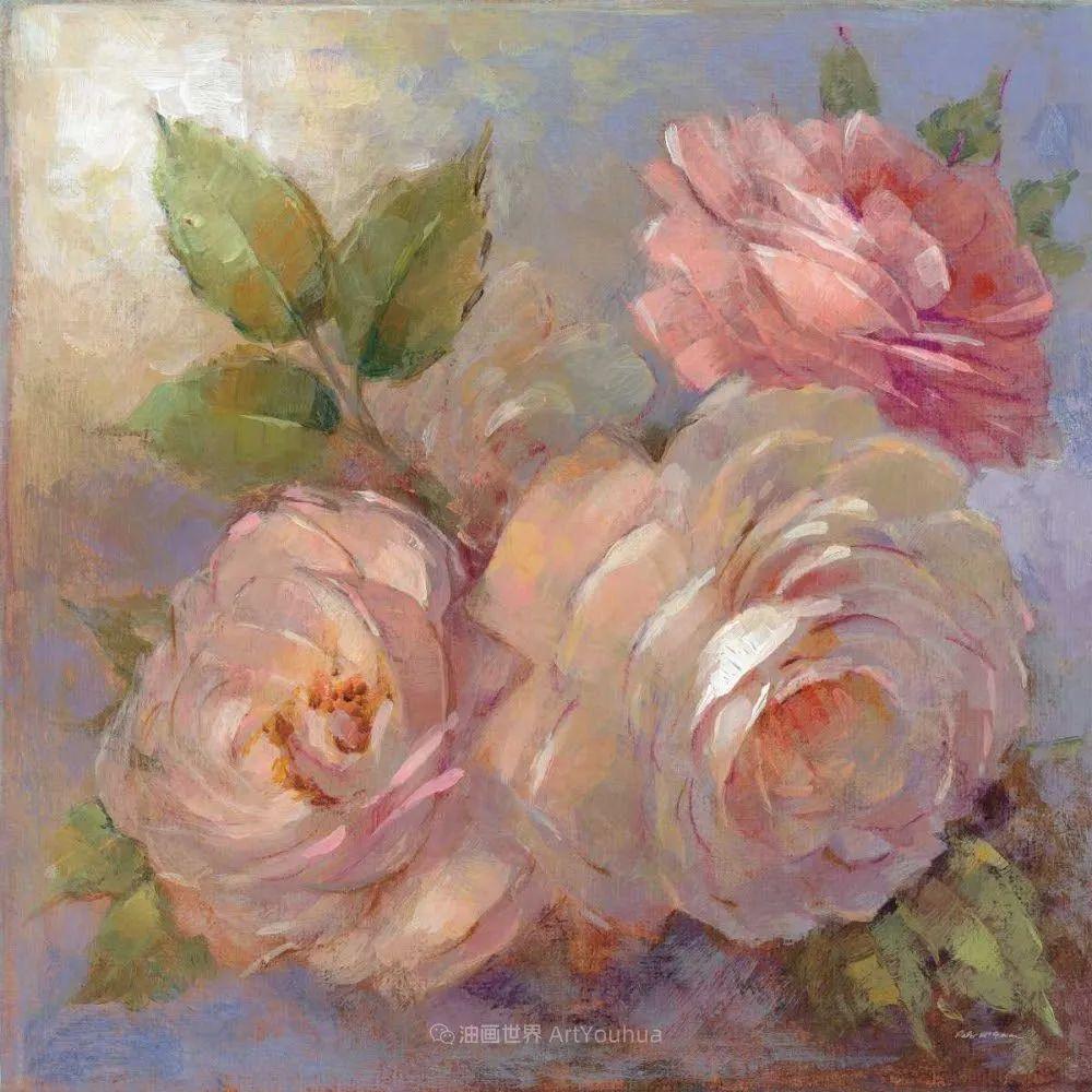 清新淡雅的花卉,英国画家彼得·麦高文插图35