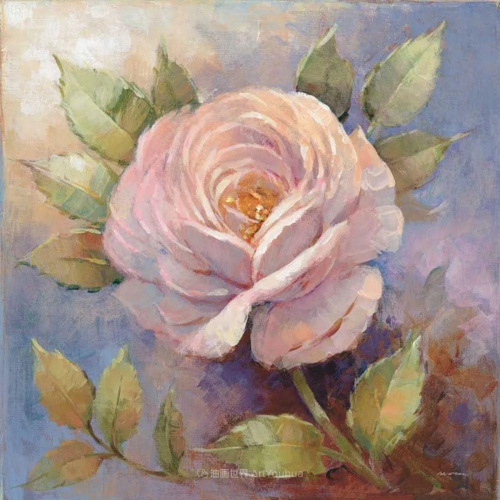 清新淡雅的花卉,英国画家彼得·麦高文插图37