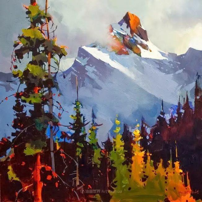 绘画是他全力以赴的激情,笔下风景光色交加,生动有趣!插图3