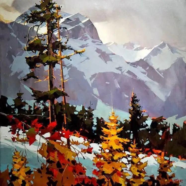 绘画是他全力以赴的激情,笔下风景光色交加,生动有趣!插图25