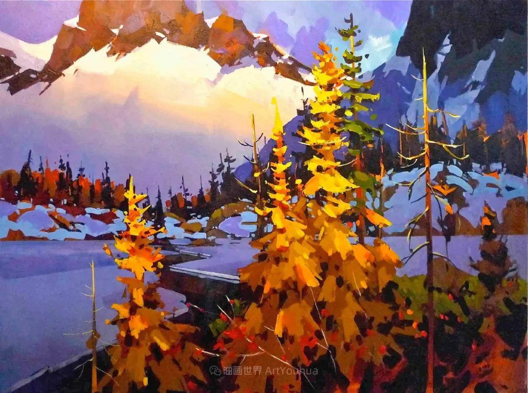 绘画是他全力以赴的激情,笔下风景光色交加,生动有趣!插图33
