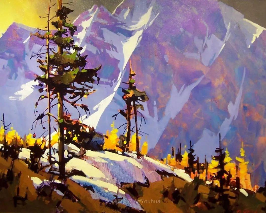 绘画是他全力以赴的激情,笔下风景光色交加,生动有趣!插图35