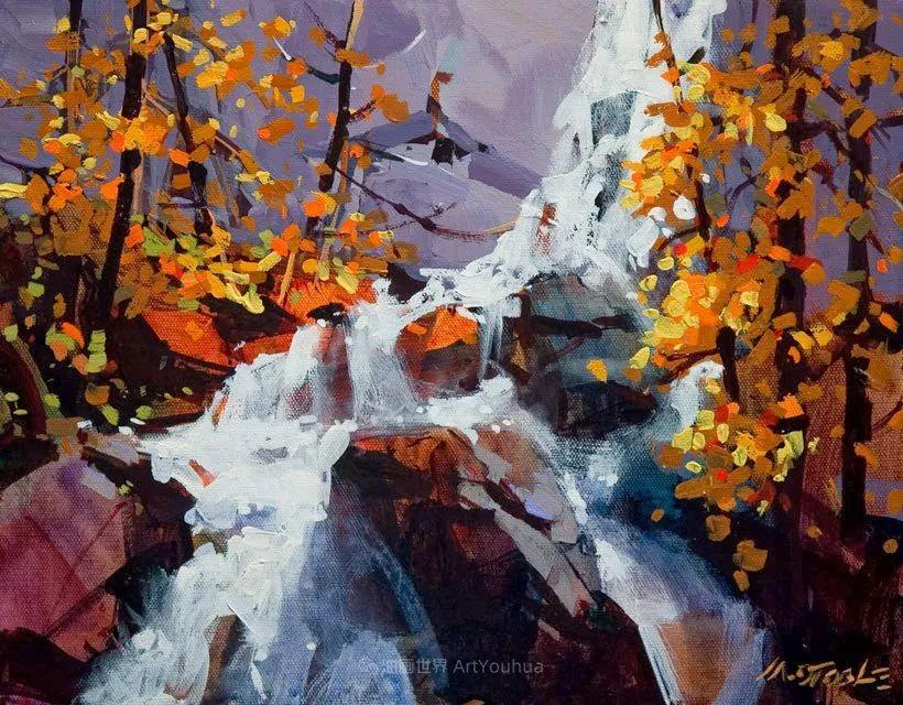 绘画是他全力以赴的激情,笔下风景光色交加,生动有趣!插图41