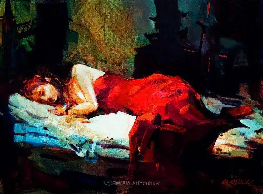 绘画是他全力以赴的激情,笔下风景光色交加,生动有趣!插图65