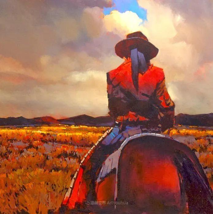 绘画是他全力以赴的激情,笔下风景光色交加,生动有趣!插图67