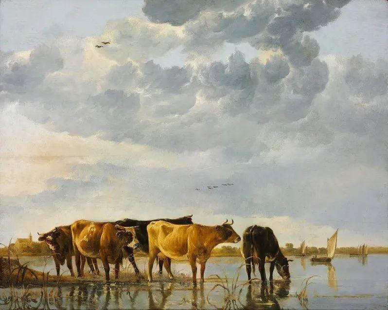 17世纪荷兰黄金时期杰出的风景画家,阿尔伯特·库普插图1