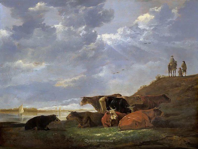 17世纪荷兰黄金时期杰出的风景画家,阿尔伯特·库普插图3