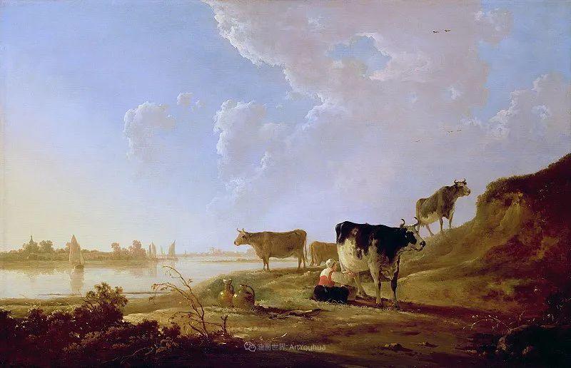 17世纪荷兰黄金时期杰出的风景画家,阿尔伯特·库普插图5