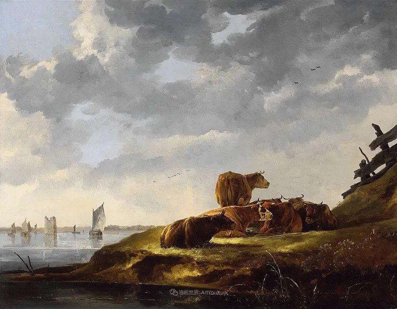 17世纪荷兰黄金时期杰出的风景画家,阿尔伯特·库普插图7